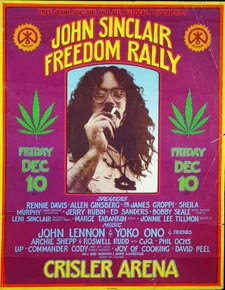 John Sinclair Freedom Rally Poster